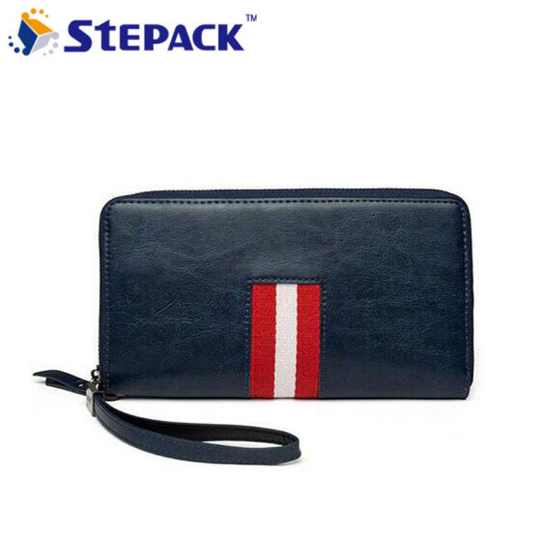 2017 New Arrival 4 Colors Mutil-Card Holders Wallet Leather Men Handbag Fashion Big capacity Billfold Business High Quality
