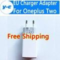 Para oneplus two ue adaptador de cargador de alta calidad 100% nuevo usb cabeza del cable de cargador de la ue para oneplus one oneplus x para oneplus 2