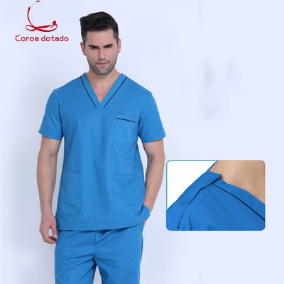 Hand washing clothes hand oral hygienist pet hospital mens and womens separate suits