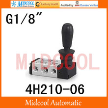 High quality hand Pull valve manual valve SHAKO port 1 8 4H210 06 control Manual valve