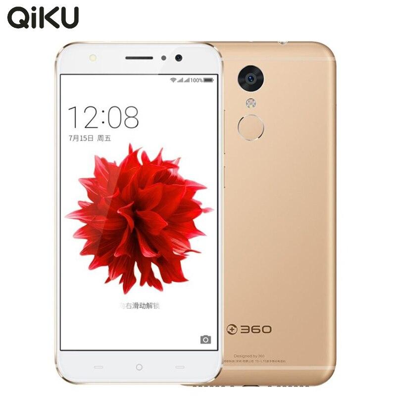 Original Qiku 360 N4S 4G LET Cell Phone 4GB RAM 32GB ROM Helio X20 Deca Core 5.5″ FHD 16MP Camera 5000mAh Fingerprint Smartphone