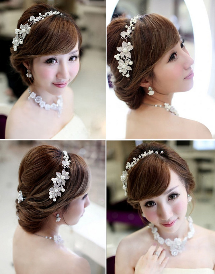 HTB1kP1bPVXXXXamXVXXq6xXFXXX9 Luxury Silver/Gold Rhinestone Pearl Jewel Flower Hair Accessory For Women - 2 Colors