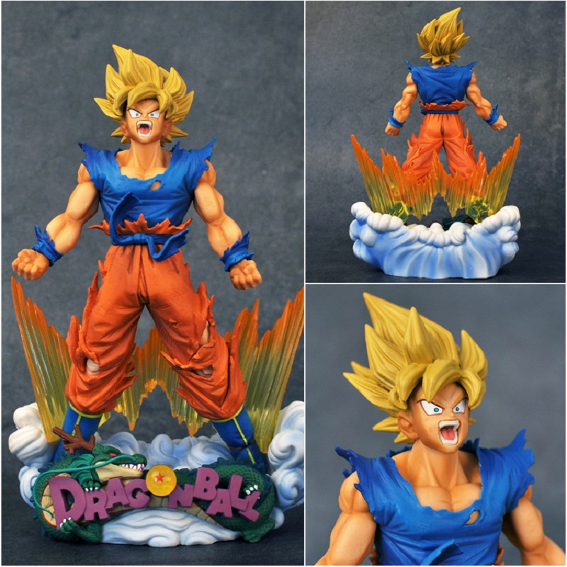 24cm Dragon Ball Super Saiyan Son Goku Pvc Anime Figure Toy Cartoon Dragon Ball Son Goku Display Model Toys Children Gift24cm Dragon Ball Super Saiyan Son Goku Pvc Anime Figure Toy Cartoon Dragon Ball Son Goku Display Model Toys Children Gift
