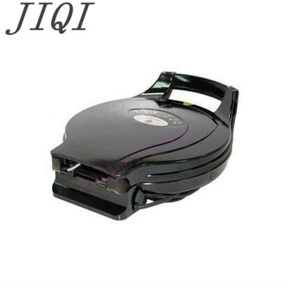 JIQI 110v Electric baking pan Double side heating machine household Flapjack griddle cake suspension jiqi baking pan suspended double side heating pancake machine flapjack cake household electric barbecue pie machine 1200w