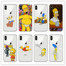IMIDO case for iphone x silicone Anime soft silicone phone cover For iPhone X 5 5S