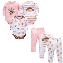 Monther's Day Bebe Set Newborn Baby Girl Clothing Boy Winter Clothes+pant for Kids 0-9M Body Roupas Casaco Infantil Menina