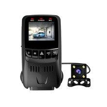 2017 Новатэк 96655 B40D Автомобильный ВИДЕОРЕГИСТРАТОР с Двумя Объективами Тире Cam Цифровой Видеорегистратор Видеокамера 1080 P g-сенсор С Камера Заднего вида
