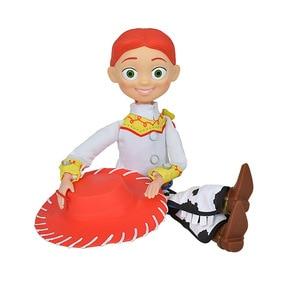 Image 5 - Disney Pixar juguete historia 3 4 hablando Woody Jessie figuras de acción cuerpo de tela muñeca modelo colección limitada juguetes regalos para los niños 40C