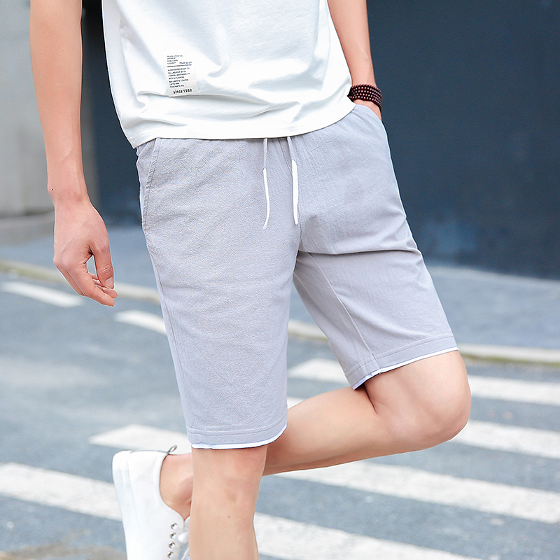 Mens Quick Drying Shorts 2018 New Fashion Casual short masculino Summer Shorts Man Chinese style linen Shorts Male Jogger Hommes