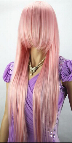 free shipping anime silver pink