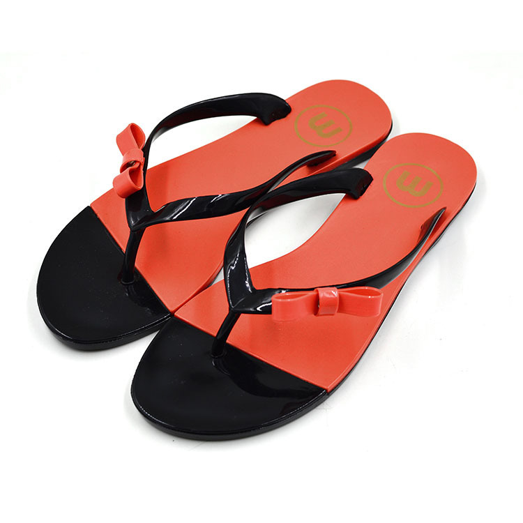 shoes Women's Summer style jelly pvc flip flop girls Candy Color Flats Sandals - didadi-rain store