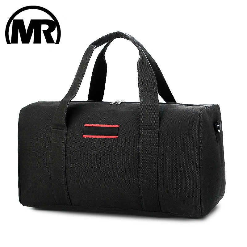 MARKROYAL Large Capacity Men Travel Bags Carry on Canvas Luggage Bag Male Travel Duffle Overnight Tote Crossbody Bag Weekend Bag