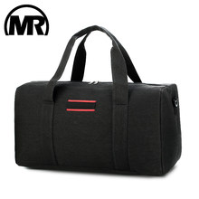 MARKROYAL Large Capacity Men Travel Bags Carry on Canvas Luggage Bag Male Travel Duffle Overnight Tote Crossbody Bag Weekend Bag(China)