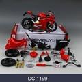MAISTO Ducati 1199 696 Motorrad Modell Kit 1:12 skala metall Montage DIY Motorrad Bike Modell Kit Spielzeug Für Geschenk Sammlung