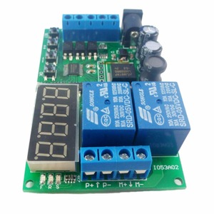 Image 5 - 5V 9V 12V 24V DC/AC Motor Controller Relay Board Forward Reverse Control Automatic Timing Delay Cycle Limit Start Stop Switch