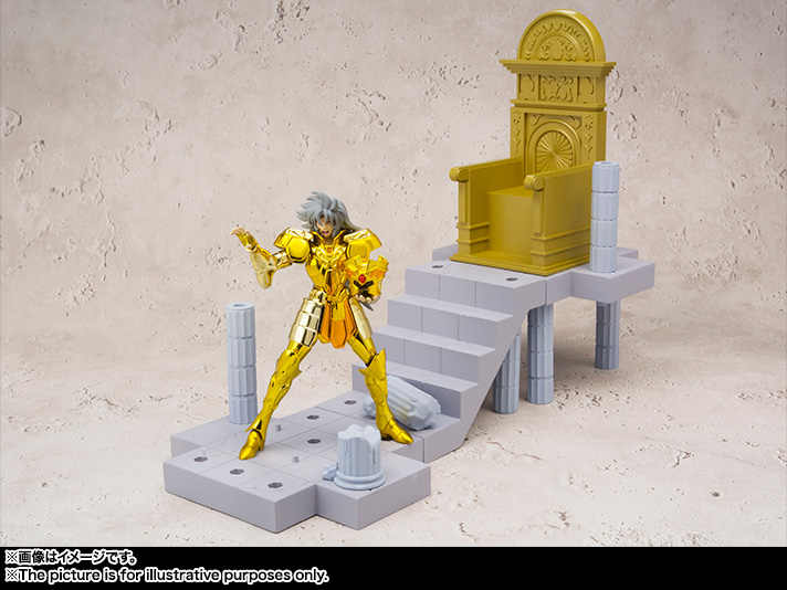 """Saint Seiya"" Originele Bandai Tamashii Naties D.D. Panoramation/Ddp Action Figure-Gemini Saga-De Paus Kamer-"