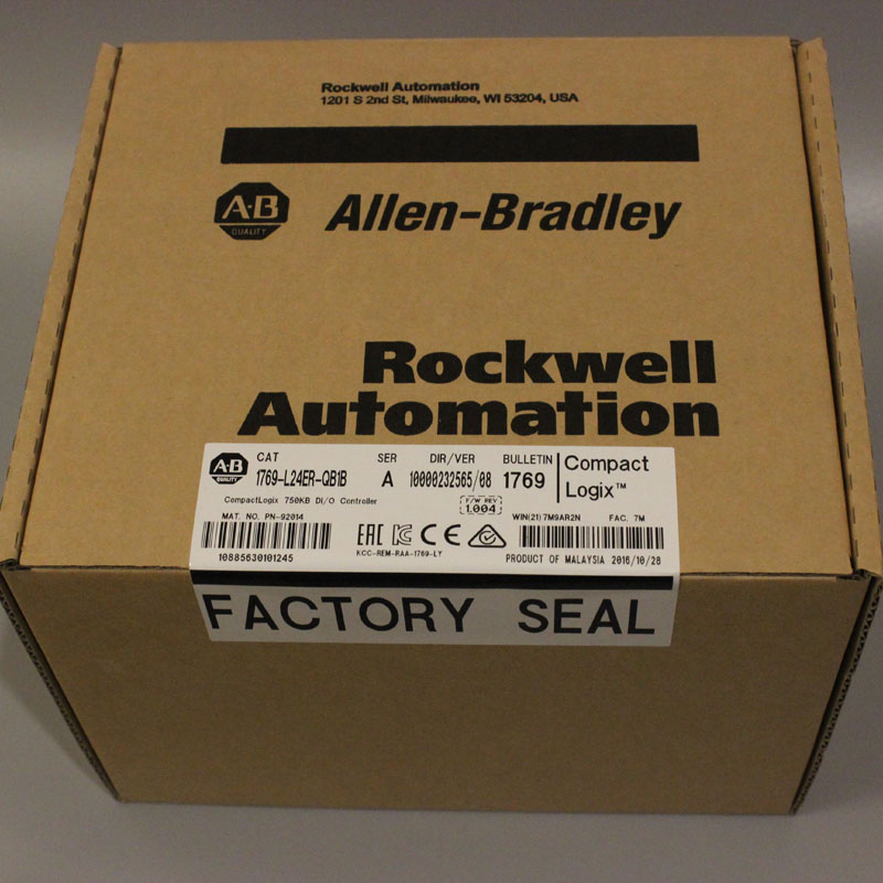1769-L24ER-QB1B Controller controlador PLC, nuevo y disponible en stock
