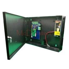 Alta Calidad RFID TCP/IP Sistema de Control de Acceso de Una Puerta de Acceso Panel + 12V5A fuente de Alimentación + Caja Metálica Protetive L01