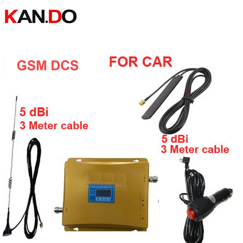 Car Use Dual Band Booster GSM900 Mhz DCS 180Mhz Booster DCS Repeater For Car,GSM DCS Repeater Signal Booster LCD Display