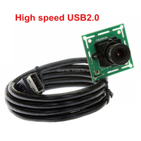 2.8mm lens MJPEG 60fps 640x480 VGA uvc mini usb endoscoop camera module lage kosten voor Linux, Windows, Android