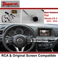 Back Up Reverse Camera For Mazda CX-5 CX 5 CX5 2015 2016 2017 RCA & Original Screen Display Compatible Rear View Parking Camera