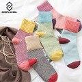 [COSPLACOOL] Women winter vintage thicken warm rabbit wool socks female high quality brand retro thermal cotton christmas socks
