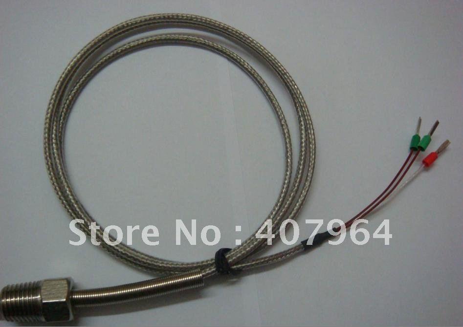 K Тип термопары детектор с SS кабель с оплеткой, высокое качество, быстрая