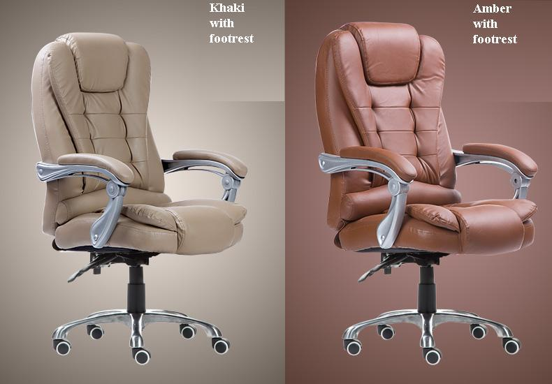 office Lounge chair boss brown black color meeting room chair madrid lounge chair