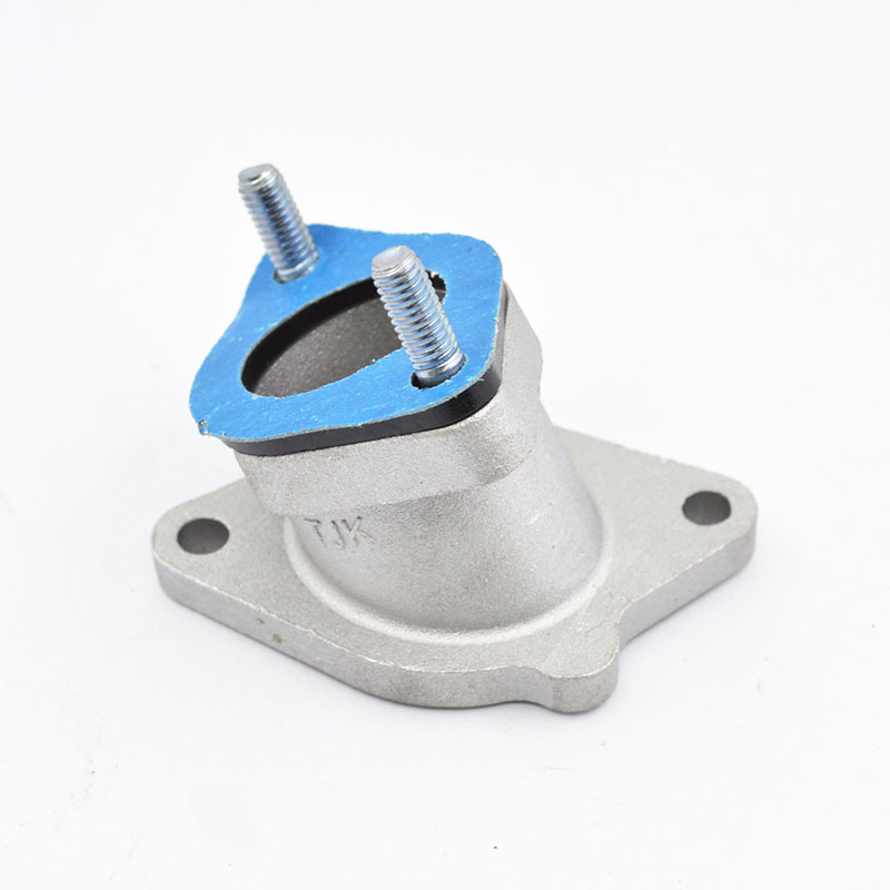 Motorcycle Carburetor Intake Manifold Pipe Joint For QIANJIANG QJ125 QJ 125 125cc Spare Parts