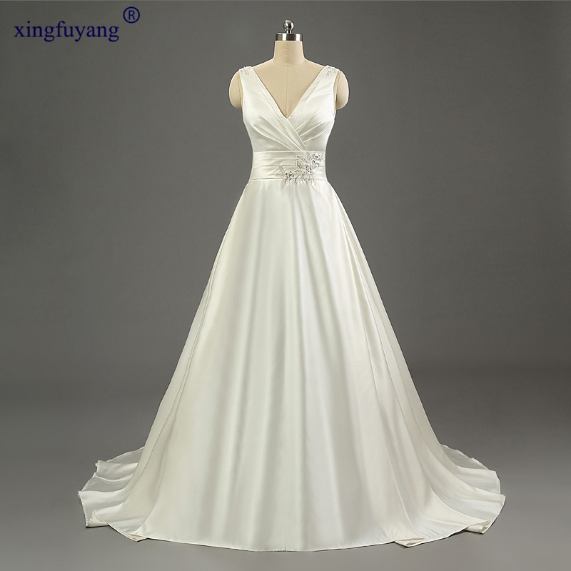 Real Photo Spaghetti Straps Exquisite Wedding Dress Natural Wedding Dress Real Pictures A-Line Sexy Elegant Wedding Dresses
