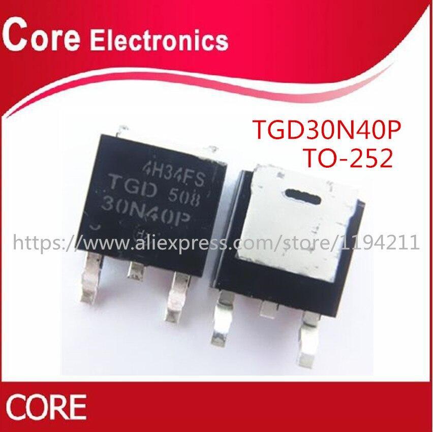 100PCS TGD30N40P TGD 30N40P TO 252