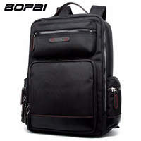BOPAI Large Capacity Business Men S Backpack New Fashion Man Travel Backpack Waterproof Travelling 14 Inch
