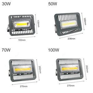 Image 5 - Projecteur LED imperméable conforme à la norme IP66, éclairage dextérieur à large faisceau, idéal pour le jardin, LED lumineuse/70/50/30W, ac 220v