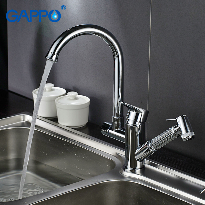 Gappo Kitchen Faucets Deck Mounted Sink Kitchen Water Taps Mixer Waterfall Faucet Kitchen Drinking Water Faucet