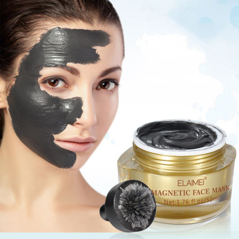 magnetic Dead Sea Mud Mask Deep Hydrating Acne Oily Skin Blackheads Pore Nourishing Pore Face Cleaner