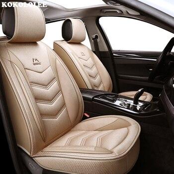 kokololee flax car sear covers for peugeot all models peugeot 206 peugeot 308 106 205 301 306 307 406 407 508 3008 car-styling