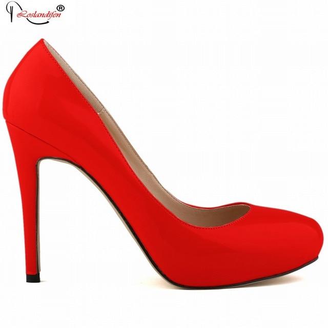 Zapatos rojos para mujer 4DldXA