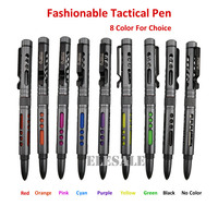 New Fasionable Portable Tactical Pen Aviation Aluminum Alloy Tungsten Anti Skid Self Defense Pen Survival EDC