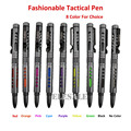 New Fasionable Portable Tactical Pen Aviation Aluminum Alloy tungsten Anti-skid Self Defense weapons Pen Survival EDC Tool Kit