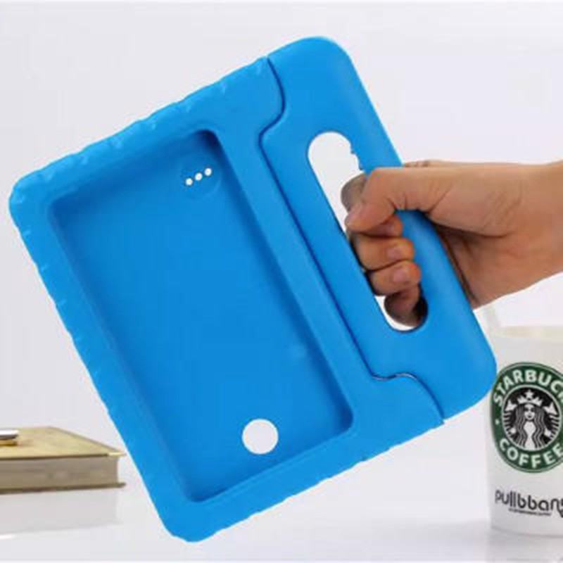 For Samsung Galaxy Tab 4 8.0 T330 T331 T335 EVA Foam Shockproof Case Funda Coque Children Kids Handle Stand Protective Cover for samsung galaxy tab 4 10 1 t530 case tab 3 10 1 inch p5200 tablet kids foam back case handle stand cover shockproof