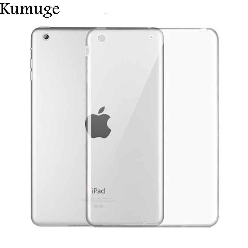 TPU Back Cover for iPad 9 7 inch 2017 Silicone Transparent Case for iPad Air 2 Air 1 Mini 1 2 3 4 Tablet Case for iPad Pro 10 5 in Tablets e Books Case from Computer Office