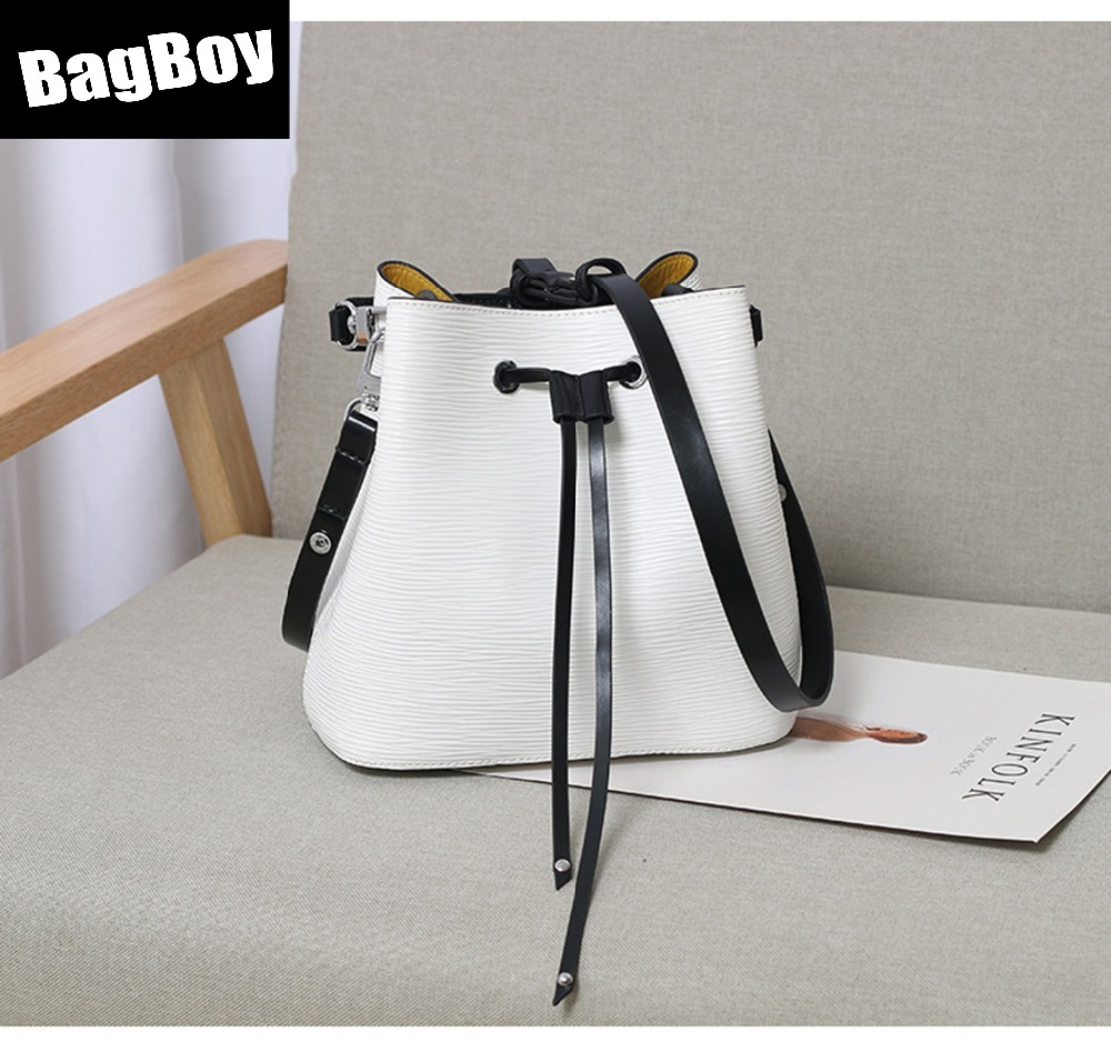 Bagboy Genuine Leather Bucket,Luxury Handbags Designer,Purse And Hand Bag,Cool Shoulder Crossbody Bag