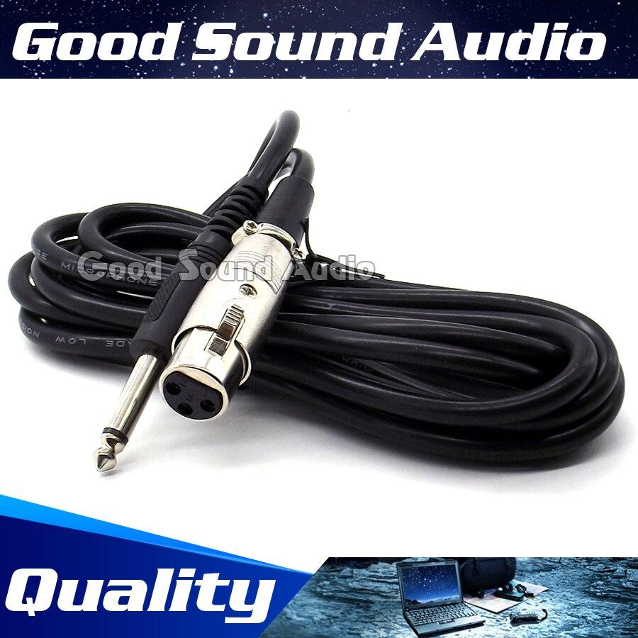 3 mt 3 Pin Xlr-buchse auf 6,5mm Stecker Aufnahme Studio Mikrofon kabel Mixer Audio Blei Männlich Jack Dynamische Mic Drahtseil Karaoke
