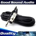 3m 3 Pin XLR Female to 6.5mm Plug Recording Studio Microphone Cable Mixer Audio Lead Male Jack Dynamic Mic Wire Cord Karaoke