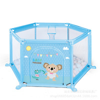 Baby Children's Play Fence Toy Baby Indoor Crawling Mat Toddler Fence Safety Fence Home Playground