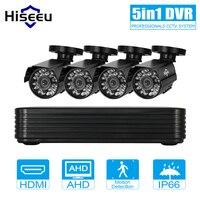 2 3 4CH 1200TVL CCTV KIT System HD 720P IR Bullet Outdoor CCTV Surveillance Home AHD