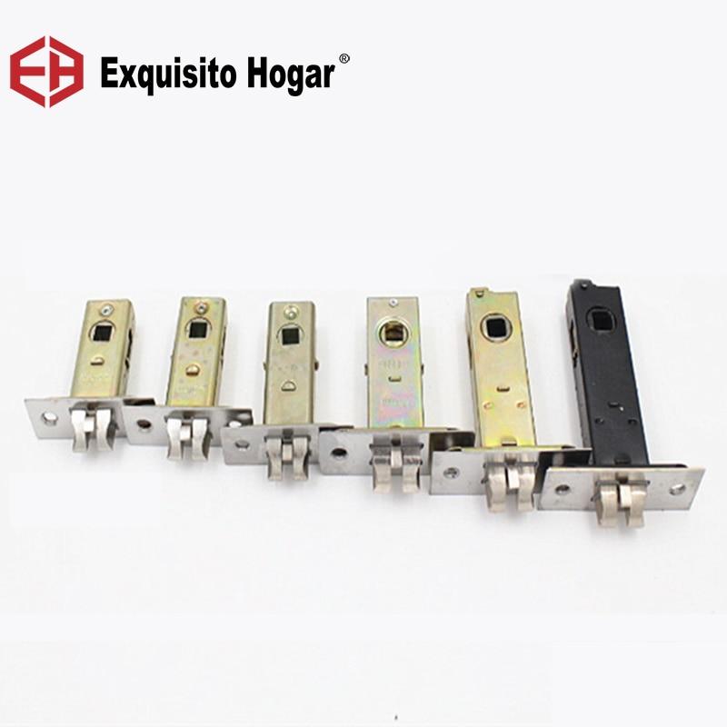 Hardware Single Lockbody Tongue Passageway Lock Body Lock Core Toilet Door Lock Single Tongue Lockcase Fitting цена