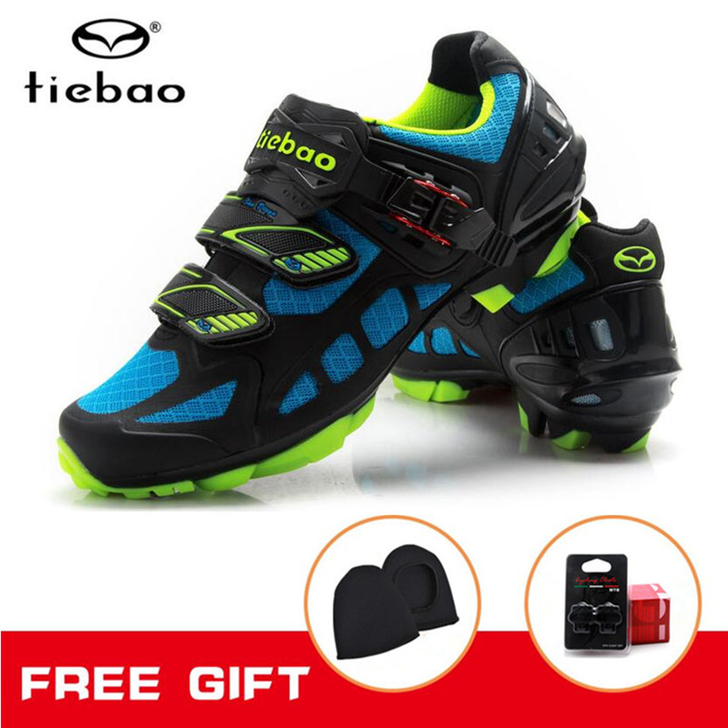 Tiebao Cycling Shoes Mountain Bike 2018 sapatilha ciclismo MTB Bicycle Shoes zapatillas deportivas mujer Men sneakers women цены