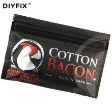 DIYFIX 1Bag Electronic Cigarette Organic Cotton Bacon Soft DIY Dream Cotton for