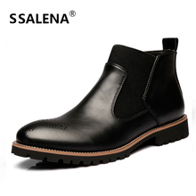 Men Fashion Ankle Boots Male Breathable Casual Lovers Botas Men Britain Style Shoes Rubber Winter Boots AA51587